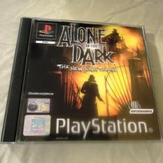 Alone in the Dark the New Nightmare playstation one, PS1, alte sute de jocuri Altele, Actiune, 16+, Single player