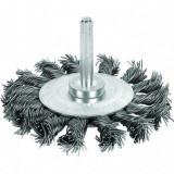 Perie circulara rotativa cu tija, 75mm