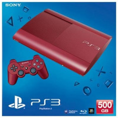 Consola Playstation 3 Slim 500Gb Red