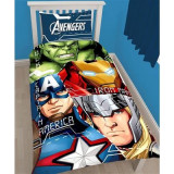 Set De Pat Marvel Avengers Tech - Lenjerie de pat
