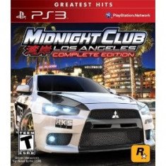 Midnight Club La Complete Edition Ps3 - Jocuri PS3 Rockstar Games