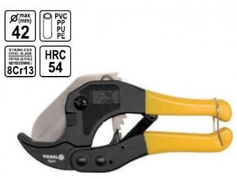 FOARFECA TAIAT TEVI PVC, PPR 42mm, Vorel foto mare