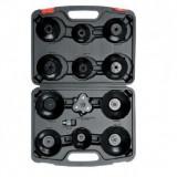 Set chei pentru filtru ulei 13 buc., Yato YT-0594, in valiza
