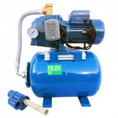 Hidrofor cu ejector, 24L, adancime 25 m, Filov CQ370A/24, corp pompa din fonta