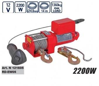 Troliu electric 2200W, Raider RD-EW05 foto mare