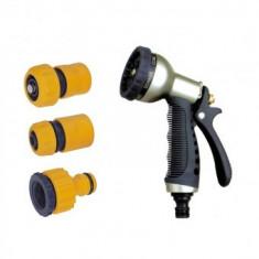 Pistol de stropit metalic cu accesorii, Strend Pro DY2378, 7 functii - Sistem de irigat