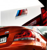 Sticker Bmw M Power 3x8cm logo,emblema