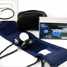Tensiometru mecanic + stetoscop + gentuta - Super Oferta! - Aparat monitorizare