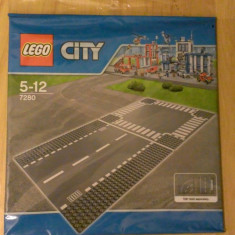 Lego City 7280 original - Intersectie si drum - nou, sigilat