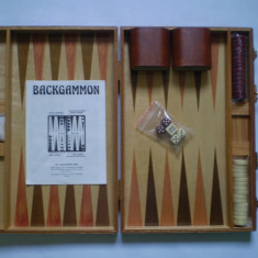 Joc Table - Backgammon, NOU - Set table