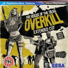 House Of The Dead Overkill Extended Cut (Move) Ps3 - Jocuri PS3 Sega