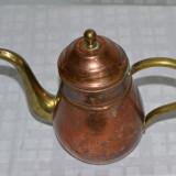 Lot 2 ceainice din cupru si alama