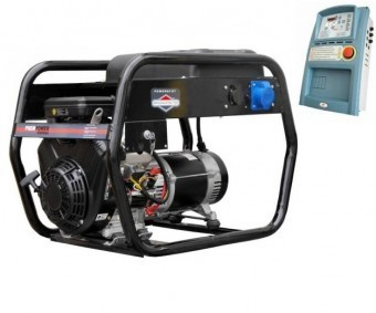 Generator benzina 8kVA, EAG 8000 cu automatizare inclusa foto