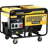 Generator de curent trifazat KIPOR KGE 12 E3, 9.5kVA, benzina - Generator curent