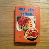 995 RETETE CULINARE - Editura Aquila`93, 1999, 542 p. - Carte Retete traditionale romanesti