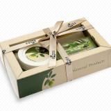 Set crema picioare cu argan 80 ml si sapun cu ceai verde 100 gr Rizes