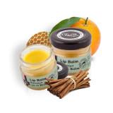 Balsam de buze cu portocale si scortisoara 100% natural 25 ml - Gloss buze