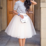 Fusta Tulle IVORY by xmade.boutique