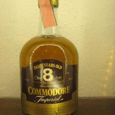 Brandy COMMODORE IMPERIAL, mai vechi de 8 ani, cc 750 gr 40 ani 70 - Cognac