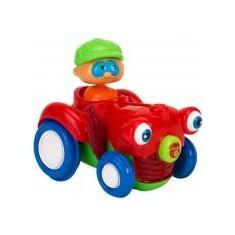 Jucarie bebelusi Vitamina G Tractor cu figurina Lumini si sunete - Jucarie baie