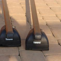 Bare transversale marca Thule + cutie portbagaj - Bare Auto longitudinale