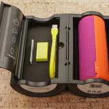 Boxa portabila Ultimate Ears BOOM 2 Tropical, Bluetooth, NFC, Portocaliu/Violet