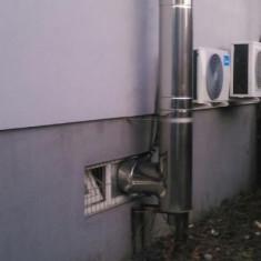 Cosuri de fum din inox pentru centrale termice - Cos fum