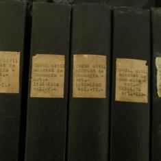 Codul civil adnotat - volumul 1, 2, 3, 4, 5 - C. Hamangiu - Carte Drept civil