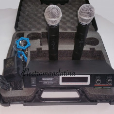 Set microfoane profesional Shure fara fir - Microfon Shure Incorporated