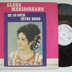 Disc vinil ELENA MERISOREANU - De la Vata catre Brad (ST - EPE 02223) - Muzica Populara electrecord
