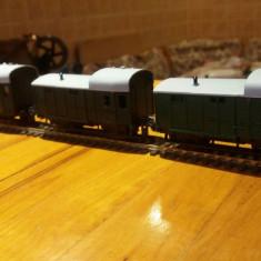 Set trei vagoane transport valori marca trix scara ho - Macheta Feroviara Trix, 1:87