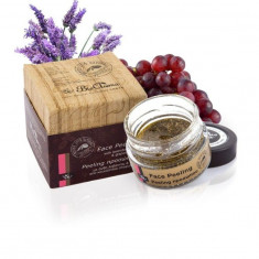 Masca exfolianta de fata cu lavanda, ulei seminte de struguri si ylang-ylang 40 ml - Demachiant