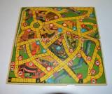 Plansa / tabla de joc cu 2 fete diferite, Germania, vechi, vintage, colectie