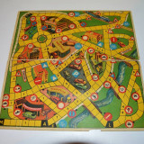 Plansa / tabla de joc cu 2 fete diferite, Germania, vechi, vintage, colectie - Joc colectie