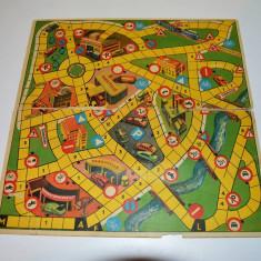 Plansa / tabla de joc cu 2 fete diferite, Germania, vechi, vintage, colectie - Joc board game