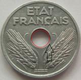 Moneda 10 Centimes - FRANTA, anul 1942 *cod 3879 Zinc a.UNC+ eroare batere, Europa