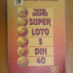 k2 Totul Despre Super Loto 5 Din 40