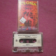 Caseta audio cu muzica din filmul clona - Muzica Dance Altele, Casete audio