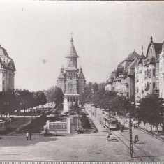 Bnk cp Timisoara - B-dul 30 Decembrie - uzata - Carte Postala Banat dupa 1918, Necirculata, Printata