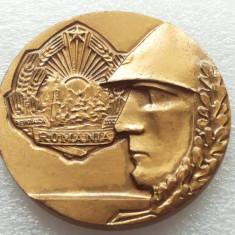 ARMATA ROMANA-MEDALIA ARMATA RSR-TRUPELE DE USCAT