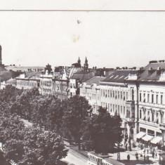 Bnk cp Arad - B-dul Republicii - uzata - Carte Postala Crisana dupa 1918, Necirculata, Printata