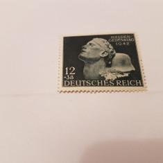 Germania reich 1942 comemorarea eroilor/ serie MNH, Nestampilat
