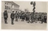 Regele CAROL al II lea la Scoala de Artilerie Timisoara