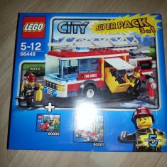 LEGO City Super-set pompieri 3in1 (66448)