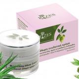 Crema hidratanta 24 ore, ten normal, uscat si sensibil cu ulei de masline, Aloe Vera si Trandafiri 50 ml Rizes - Crema antirid