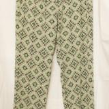 Pantaloni cu imprimeu, model 1 - Pantaloni dama, Marime: L/XL, Culoare: Din imagine