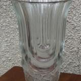 Vaza veche sticla groasa - Arta din Sticla