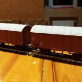 Set doua vagoane transport marfa marca marklin scara ho - Macheta Feroviara Alta, 1:87