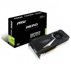 Placa video Msi NVIDIA GeForce GTX 1070, 8GB GDRD5, 256bit -noua /sigilata - Placa video PC Msi, PCI Express
