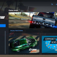Vand cont Uplay cu The Crew si alte 3 jocuri - Jocuri PC Ubisoft, Curse auto moto, 12+
